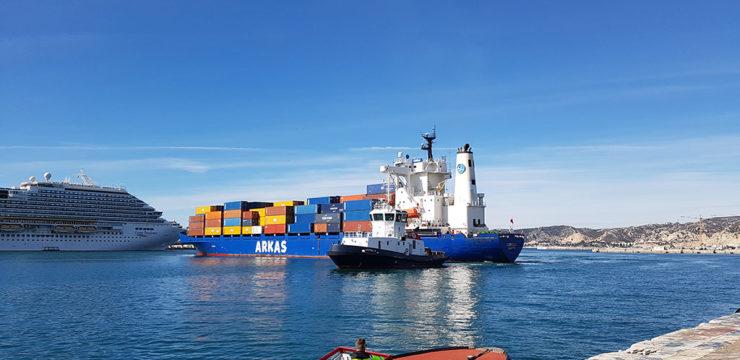 Service décadaire depuis Marseille vers la Méditerranée Orientale