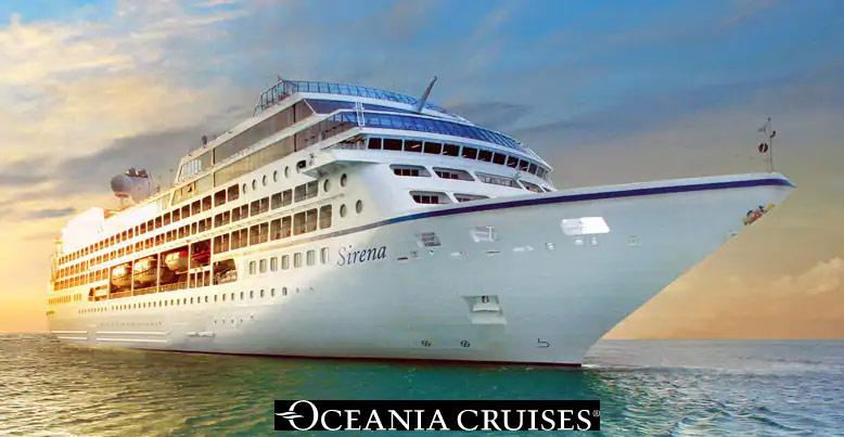 Le Sirena d'Oceania Cruises