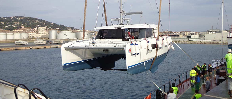 Fret catamarans